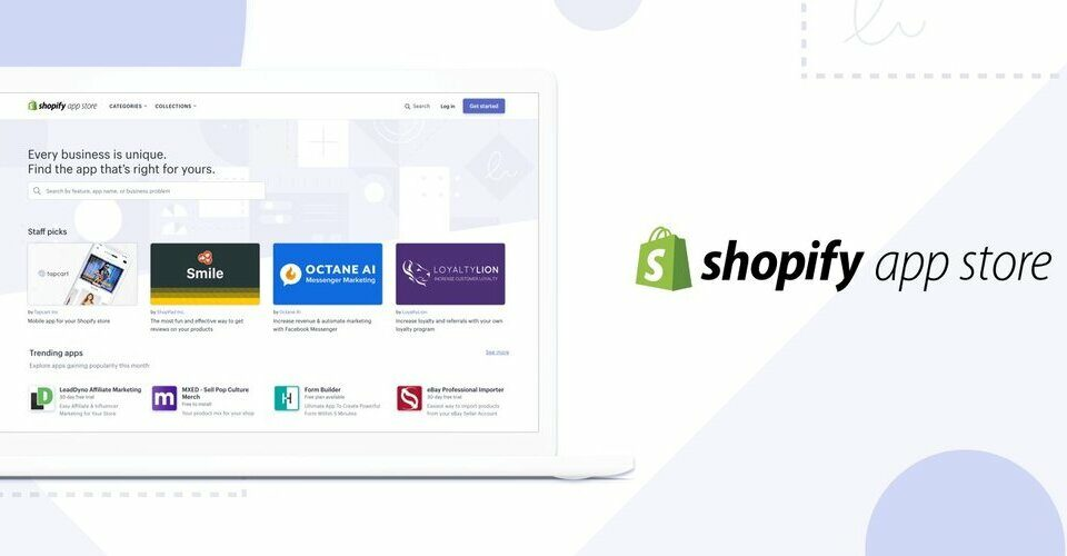Shopify retail apps