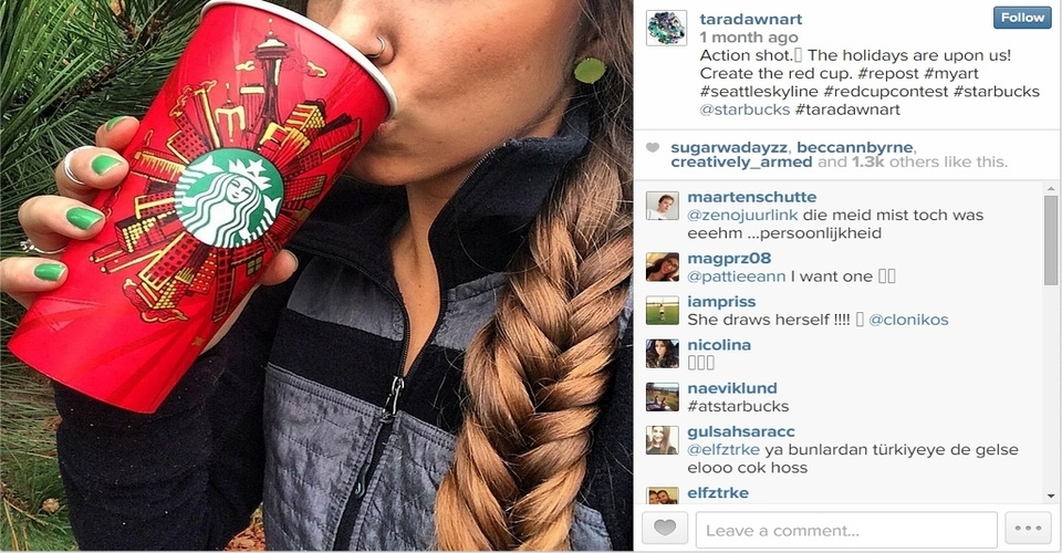 Starbucks Christmas omnichannel sales strategy