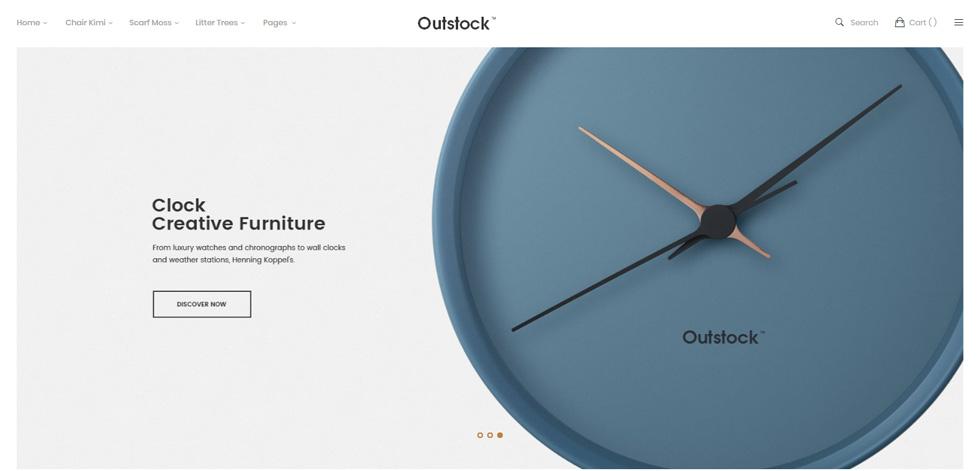 Outstock theme