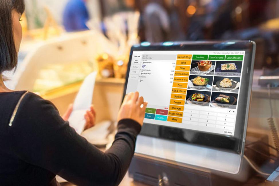 Menu items in restaurants are defined by descriptions or graphics instead of barcodes