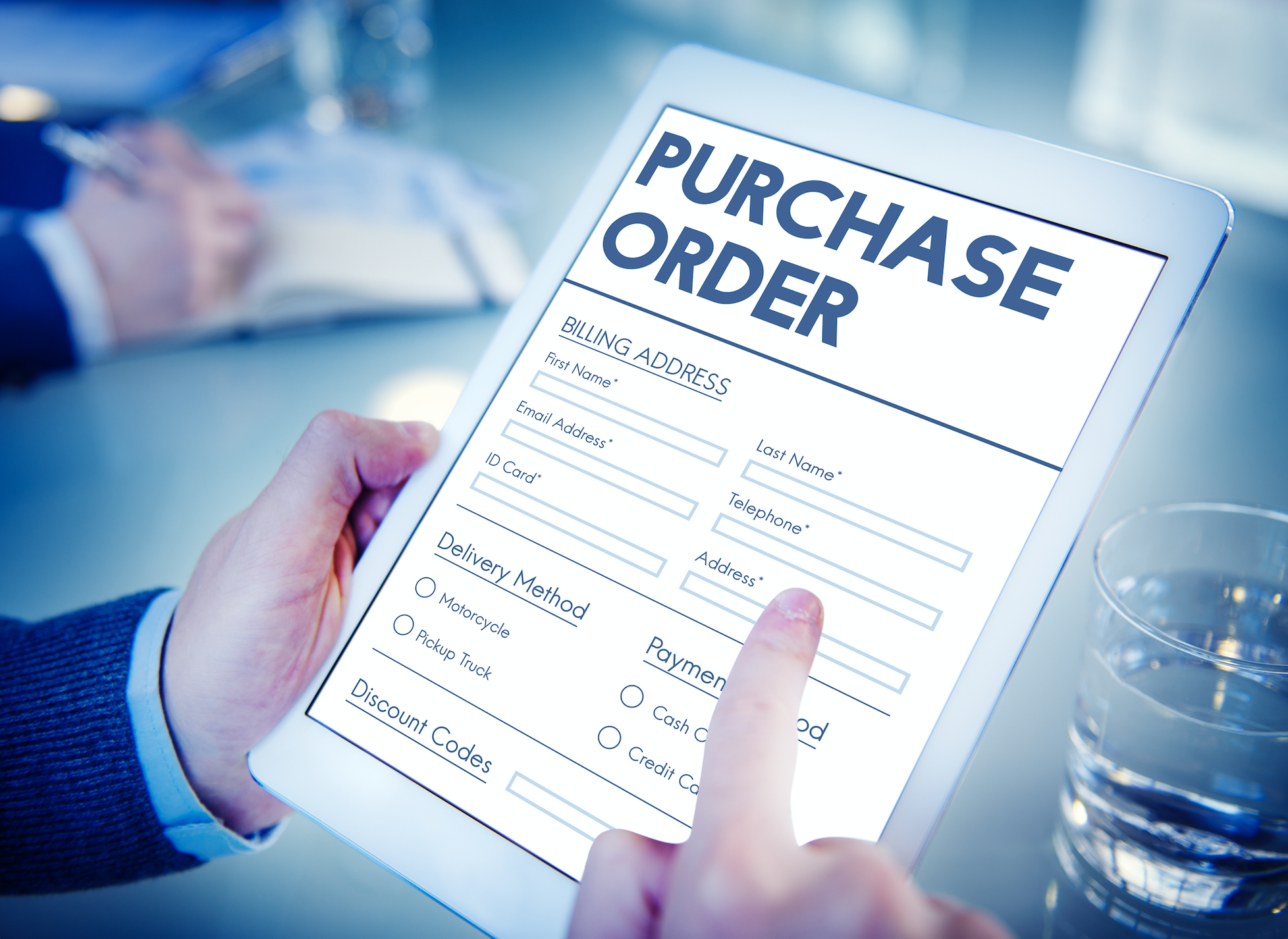 order types - purchase order