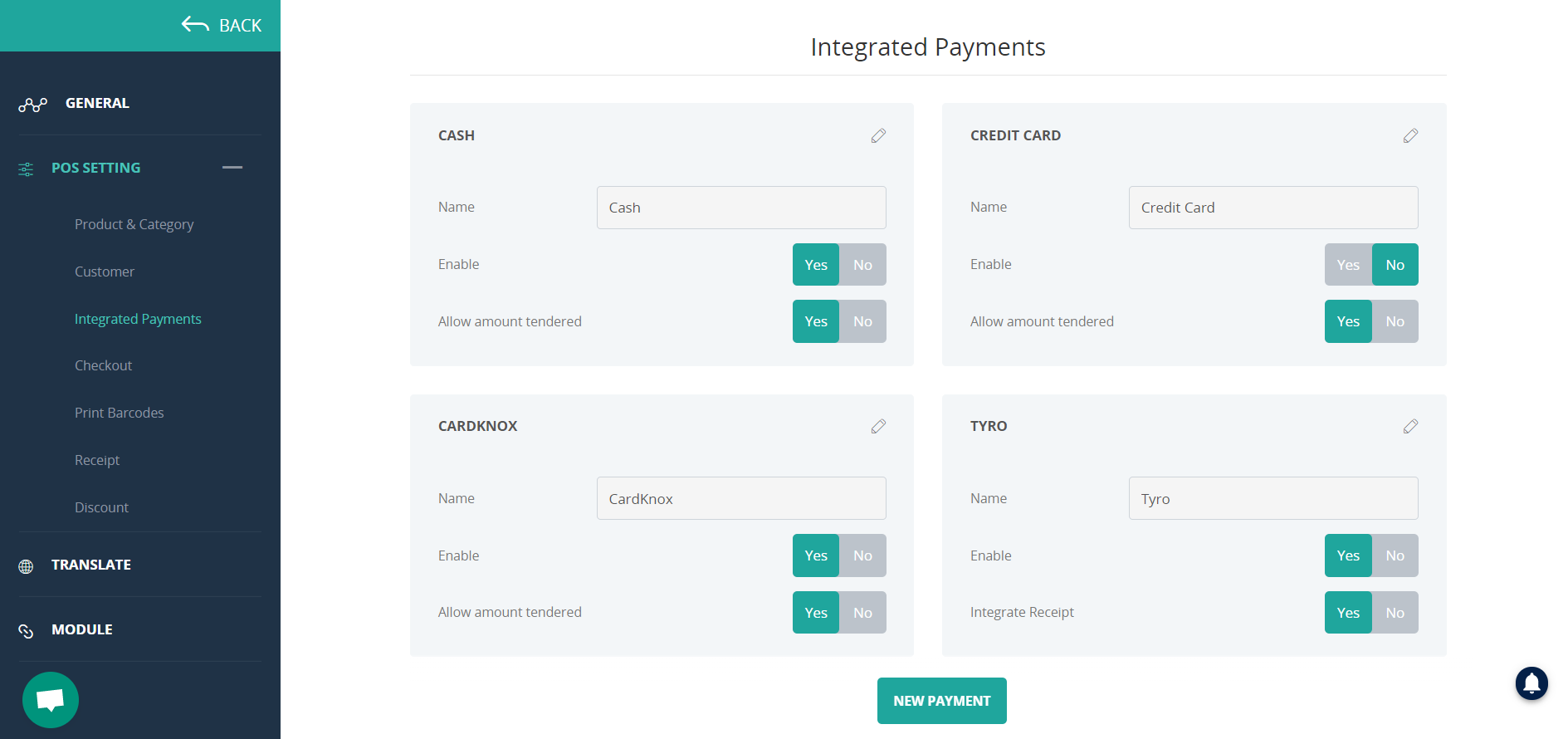 connectpos card payment