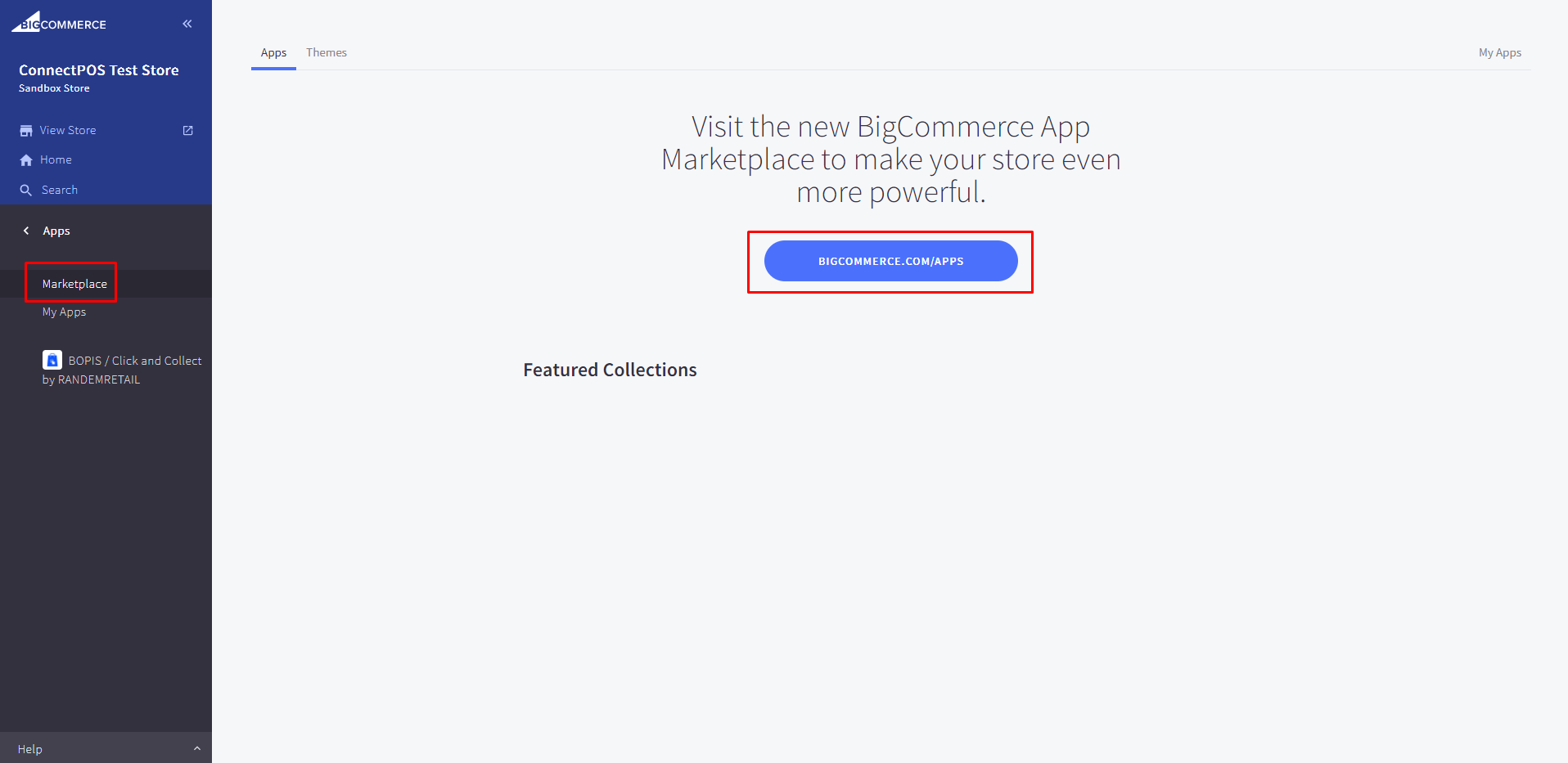 """Click on """"Marketplace"""" and browse application."""