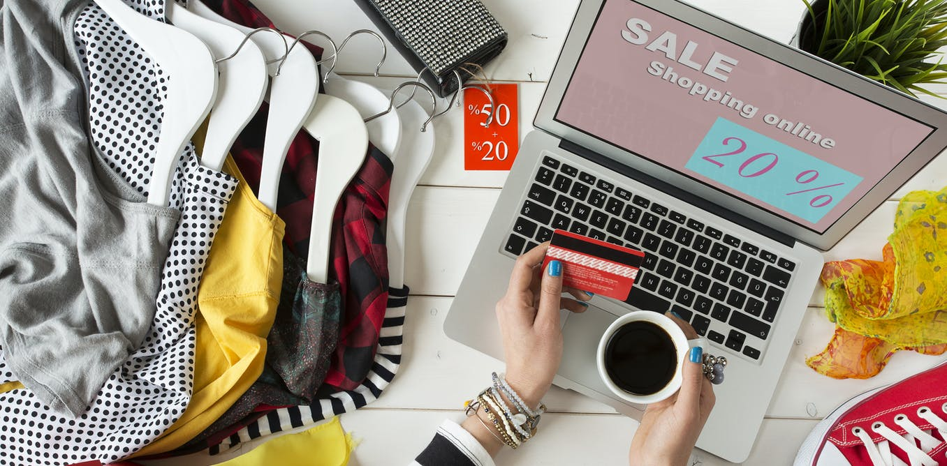Online payments increase Christmas sales.