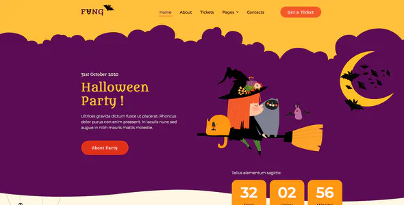 Build A Delightful Website Based On Halloween-Themed Imagery And Features - o2o business