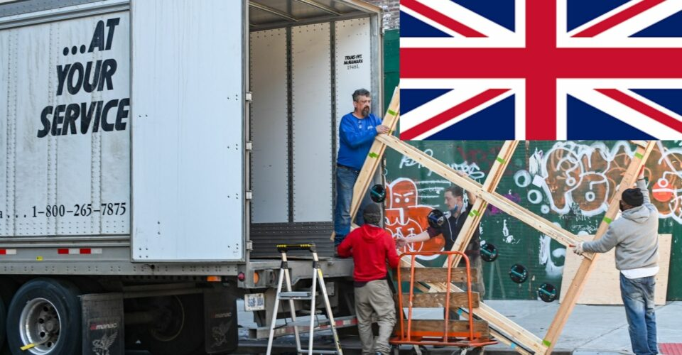 shipping services in the uk