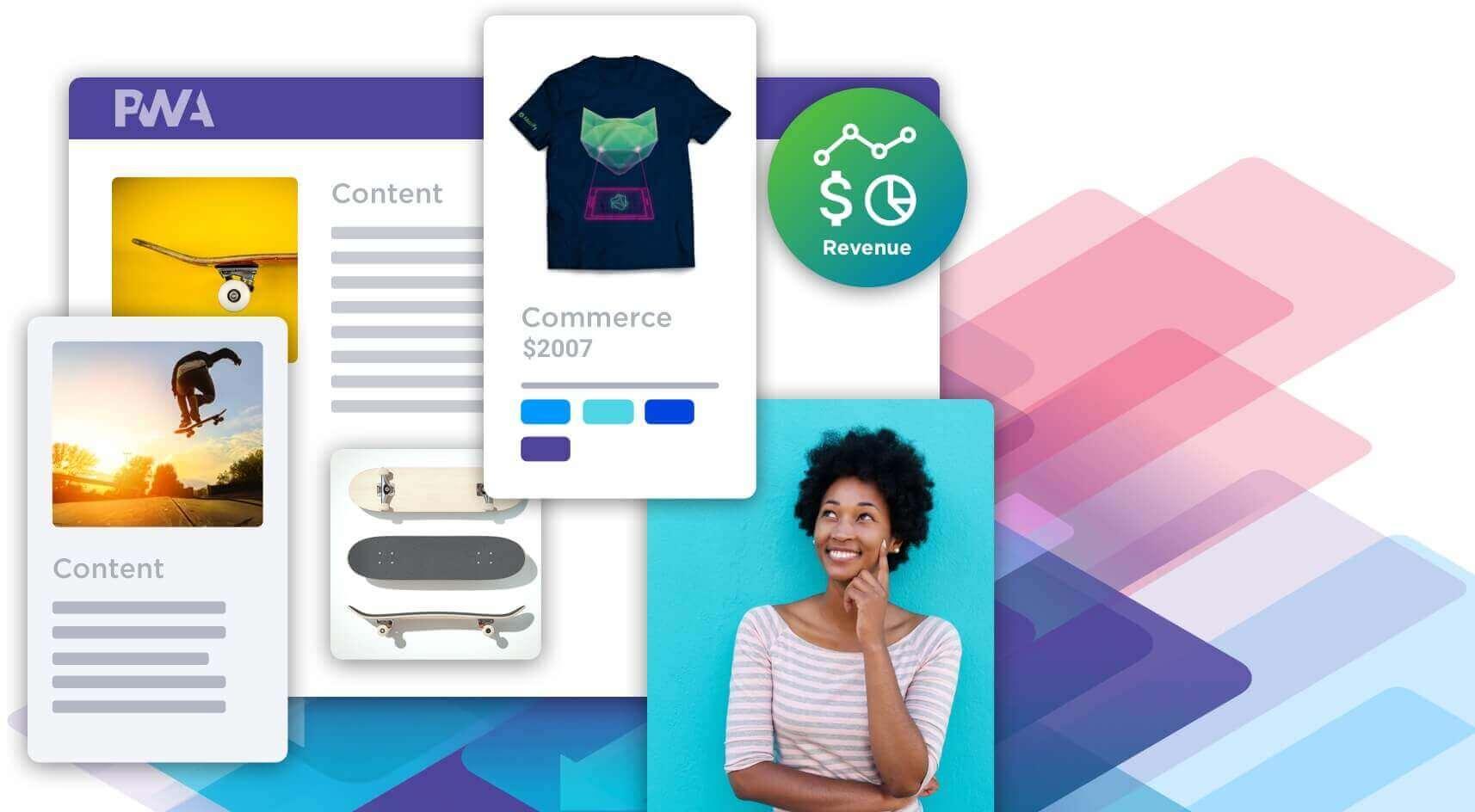 Most headless storefronts adopt Progressive Web Apps (PWA)