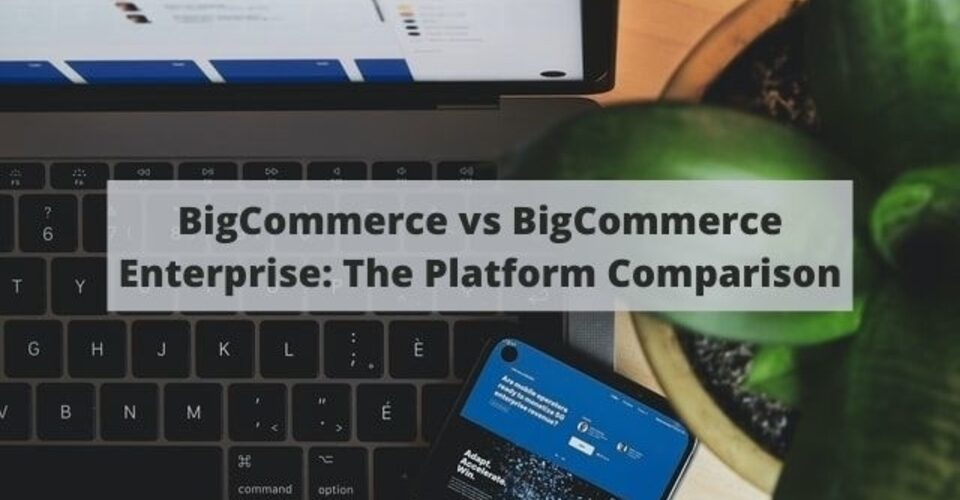 bigcommerce vs BigCommerce Enterprise: the platform comparison