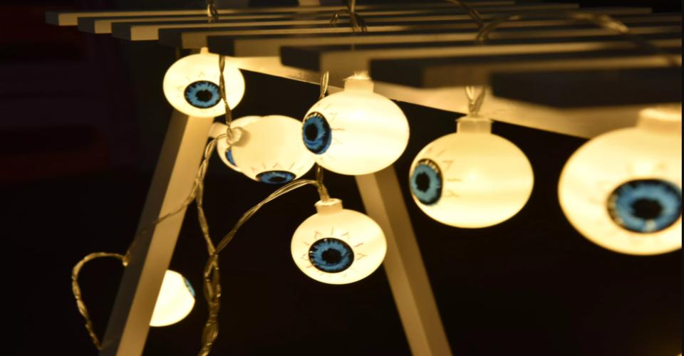 Eyeball string led lights