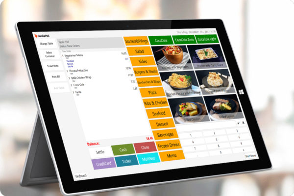 restaurant pos for food inventory