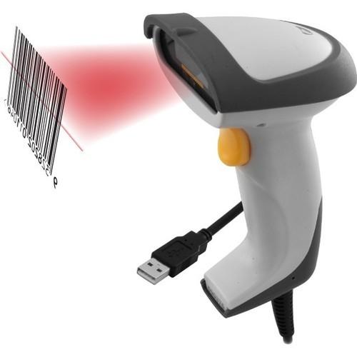 types of barcode scanner - laser scanner