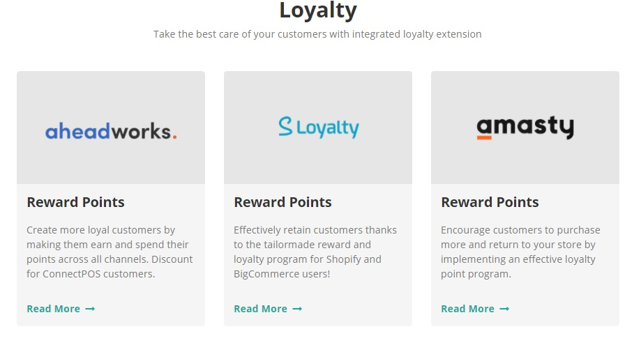 loyalty points by connectpos