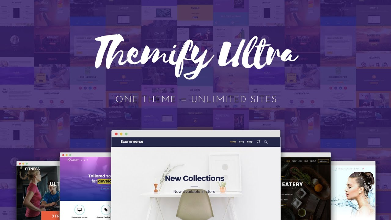 Ultra Woocommerce theme