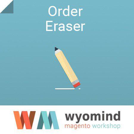 Wyomind Order Eraser - free Magento extension