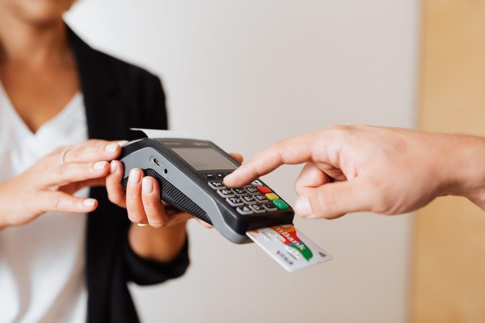 POS payment methods - card payment
