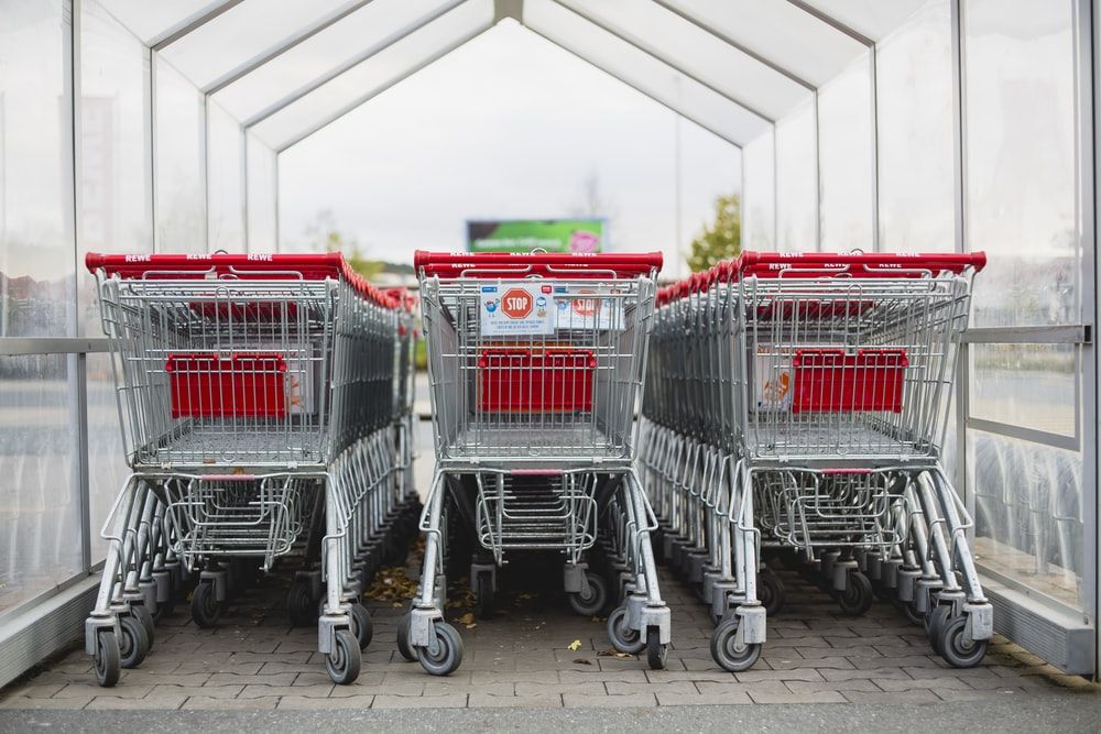 online shopping cart - traditional
