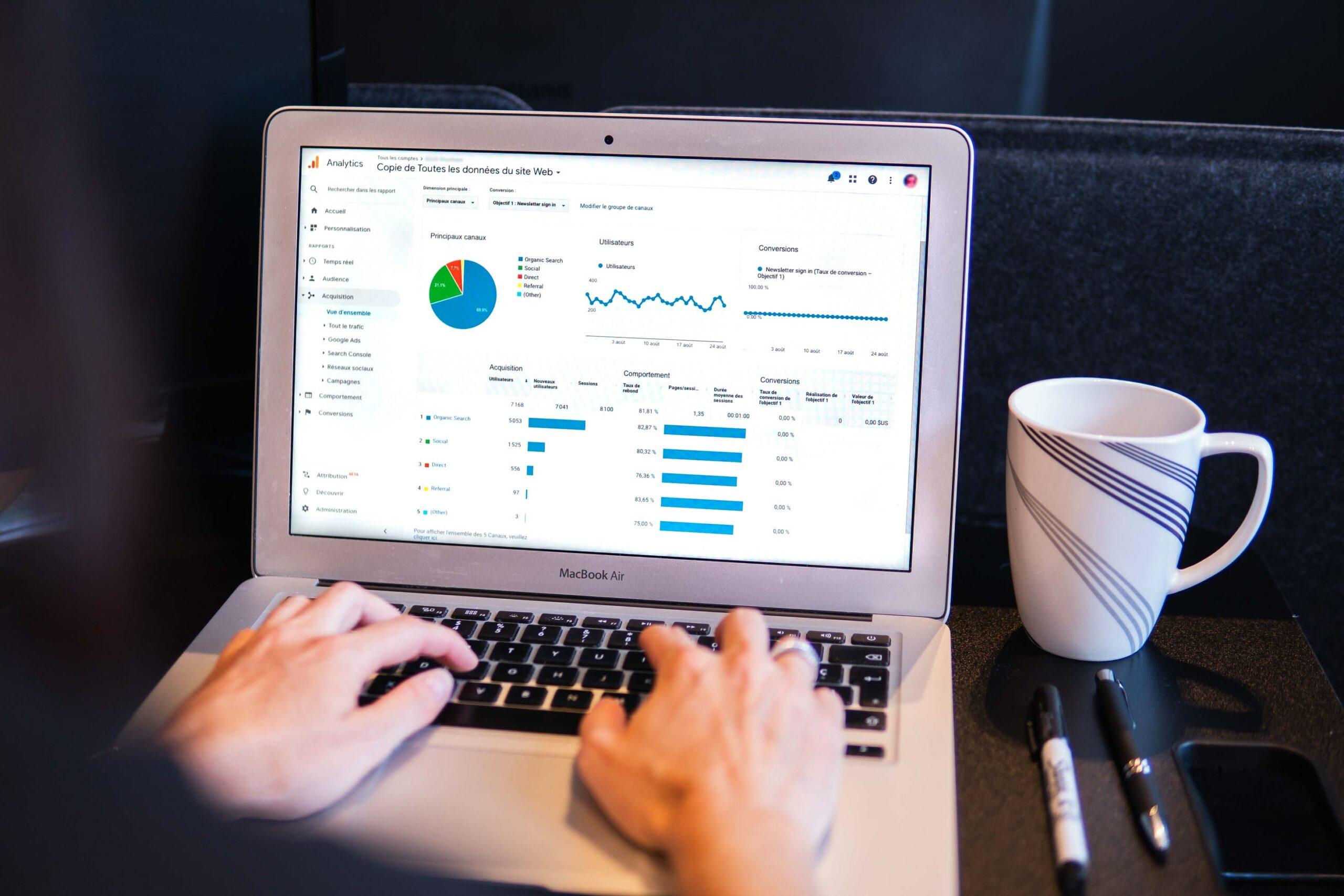 eCommerce tool - googlr analytics