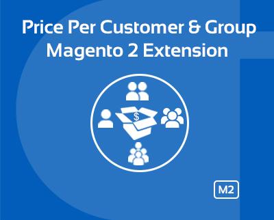 Price per customer Magento extension