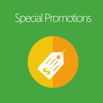 Magento supports promotion programs