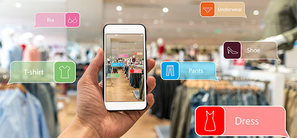 AR-powered shopping experience