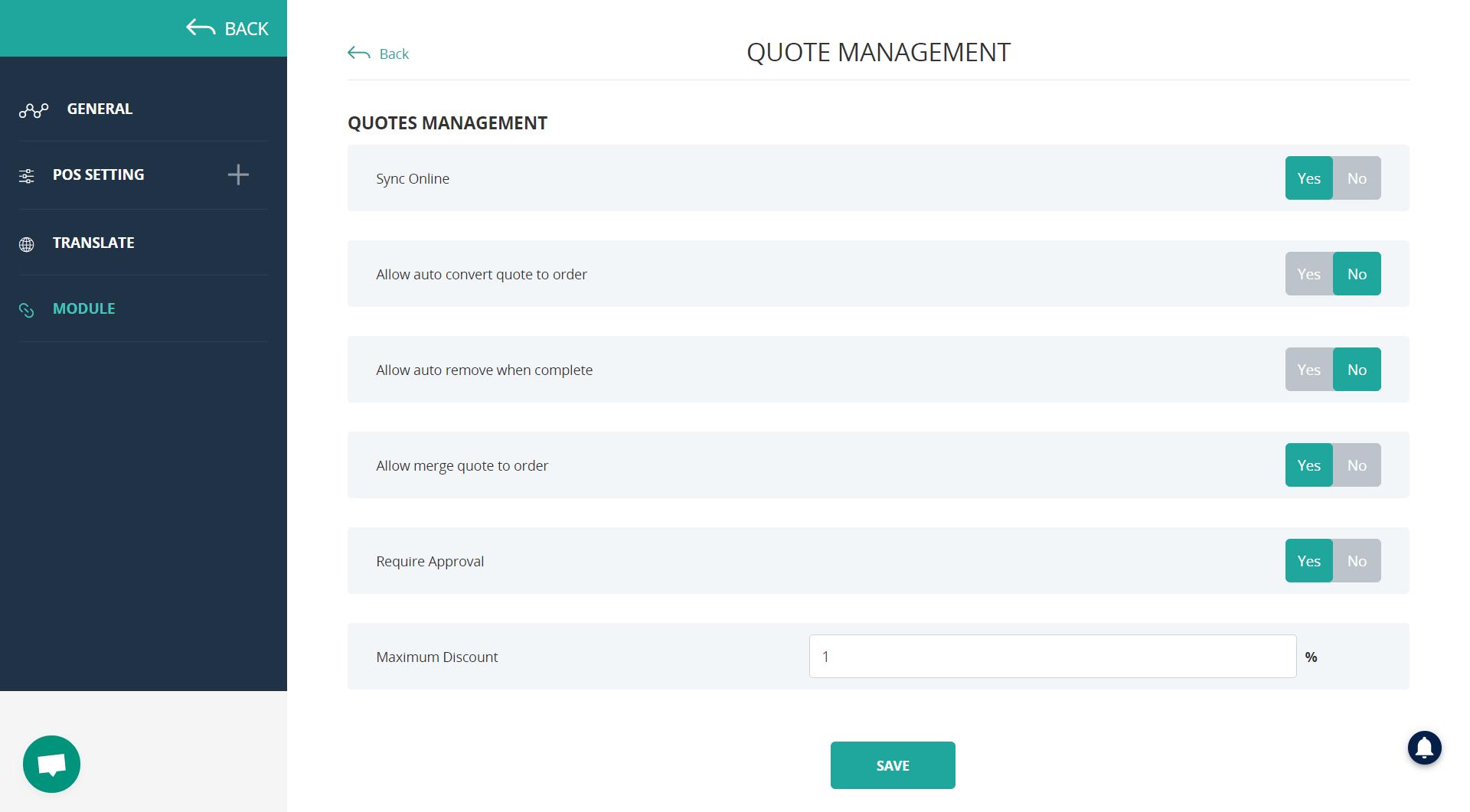 set up quote management