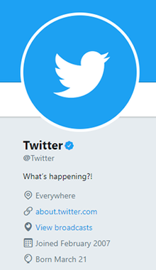 Twitter selling
