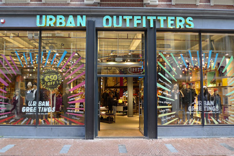 omnichannel businesses in Netherlands - urban outfiters