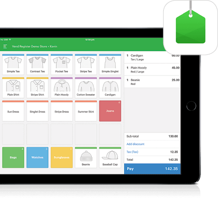 pos software for ipad - vend
